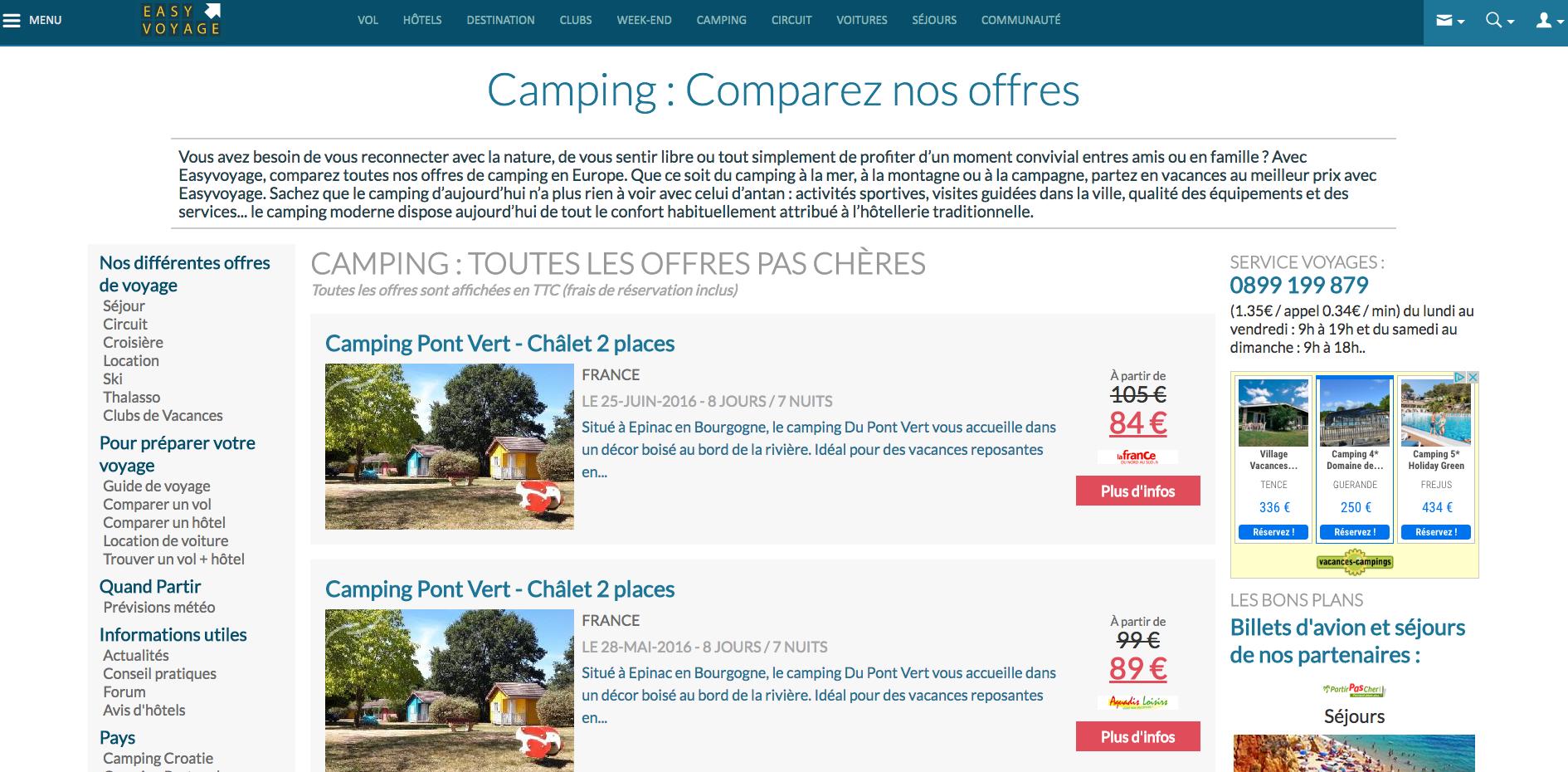 Easyvoyage Camping
