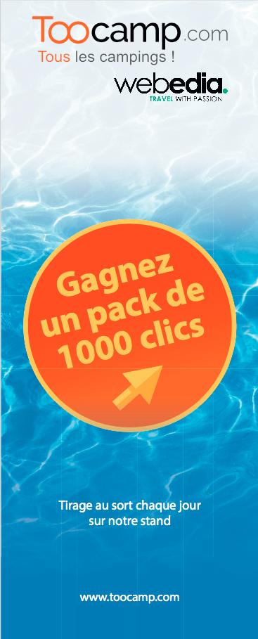 @TooCamp au @SalonSETT 2017, venez gagner 1000 clics